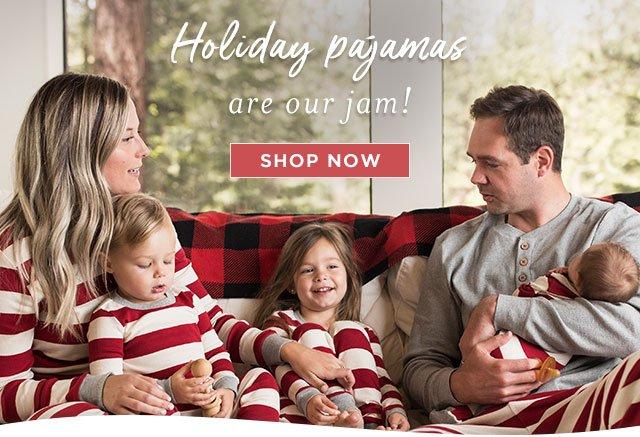 family jammies holiday matching pajamas