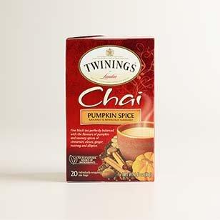 Twinings Pumpkin Spice Chai ›