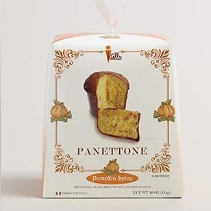 Itella Pumpkin Spice Panettone ›