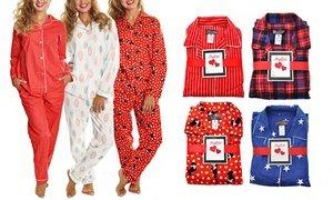 Women's Cotton Flannel Pajama Set