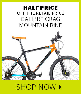 Half Price Calibre Crag Mountain Bike