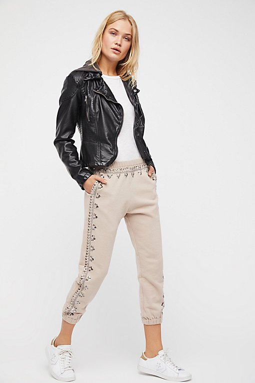 Embellished Three Wishes Sweatpant