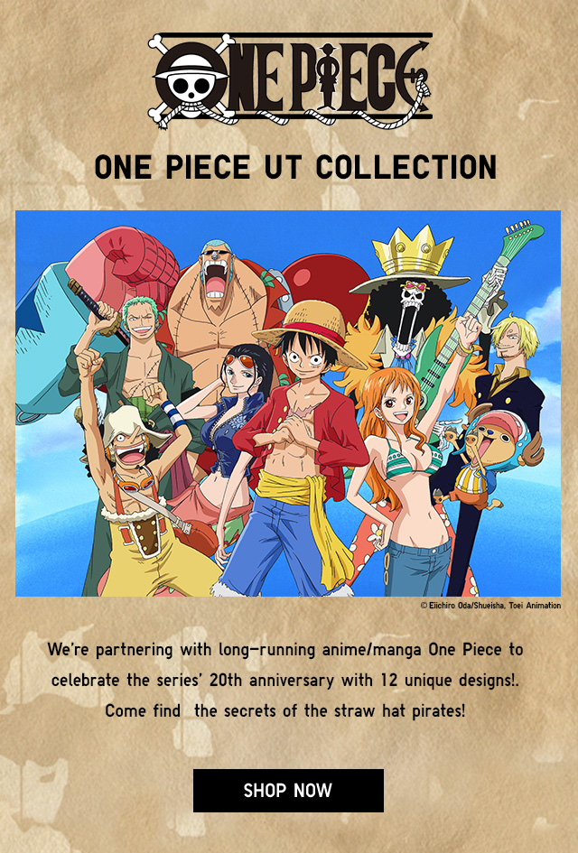 NOW AVAILABLE - ONE PIECE UT COLLECTION - SHOP NOW