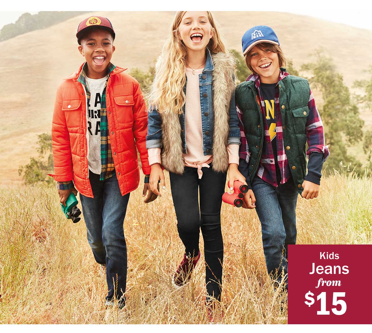 Kids Jeans from $15