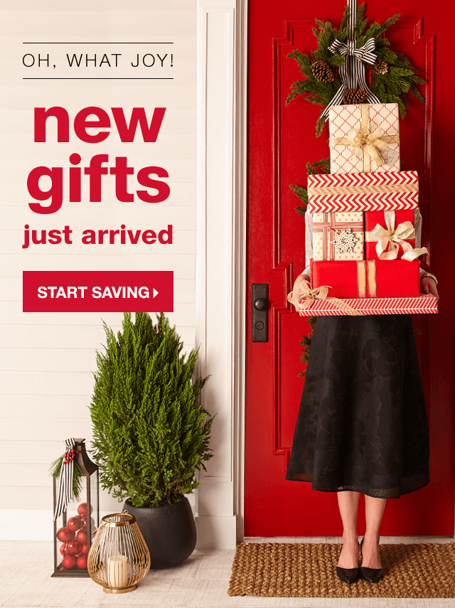 Oh, What Joy! New Gifts Just Arrived - Start Saving