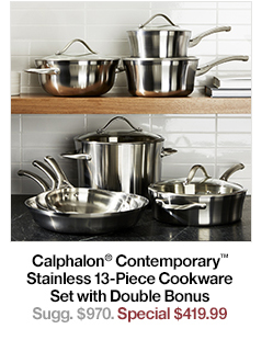Calphalon Contemporary Stainless 13_piece Cookware