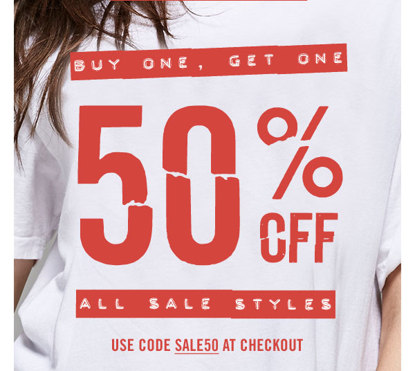 For a Limited Time: Buy One Get One 50% off plus free shipping! Use code SALE50 at checkout. SHOP NOW!