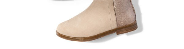 Oxford Tan Suede Youth Deia Booties