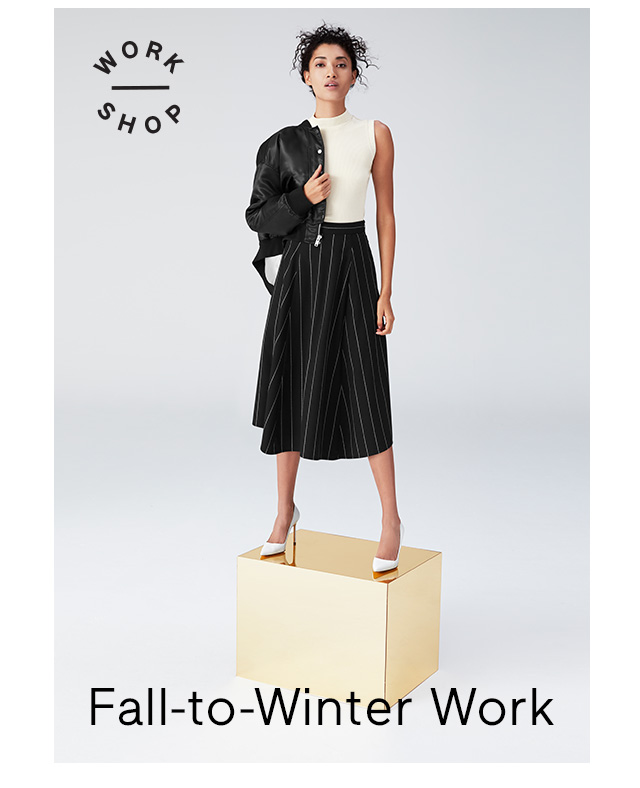 Fall-to-Winter Work
