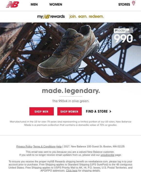 factory price b7a84 a4cf1 New Balance: The 990v4: Legendary Style In Olive Green | Milled