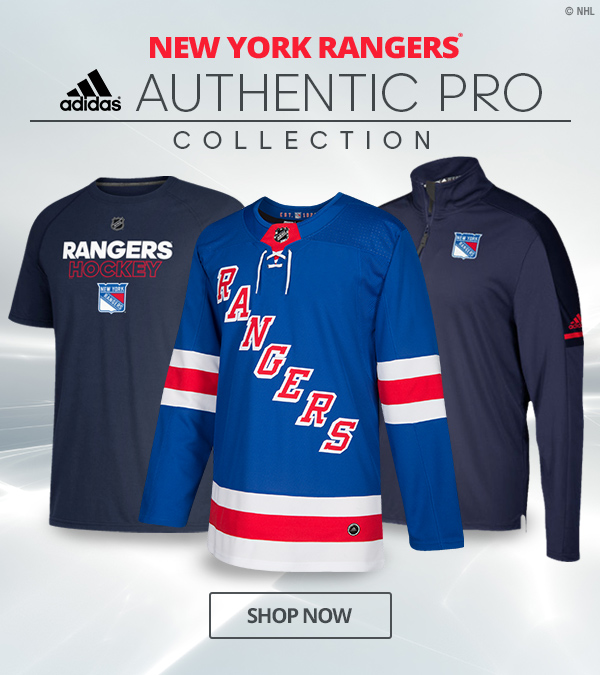Shop.NHL.com  Dress Like the Rangers in Adidas Authentic Pro Gear ... 2ce760b9a