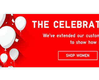 THE CELEBRATION CONTINUES - Shop Women