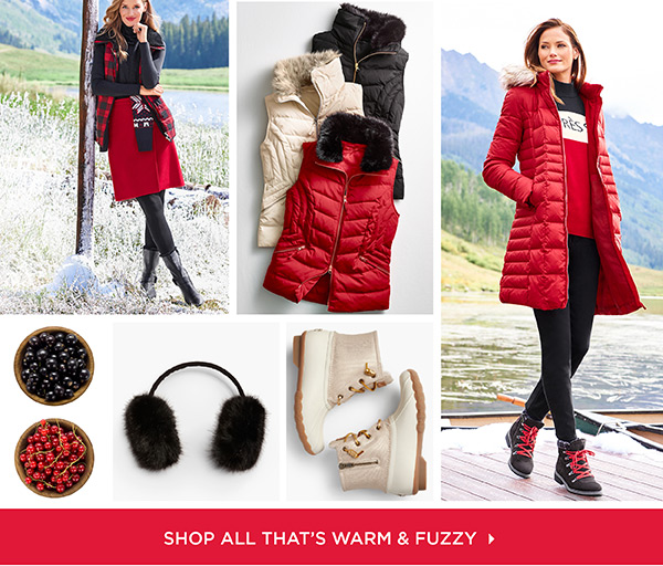 Shop All That's Warm & Fuzzy