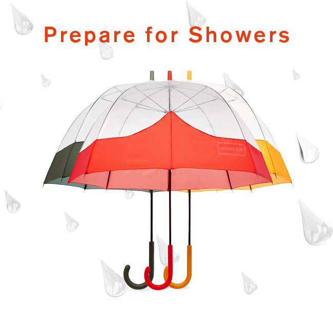 Prepare for Showers