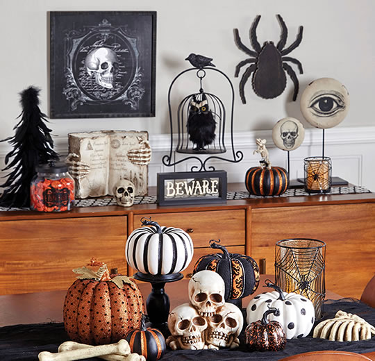 Halloween Indoor Decor.