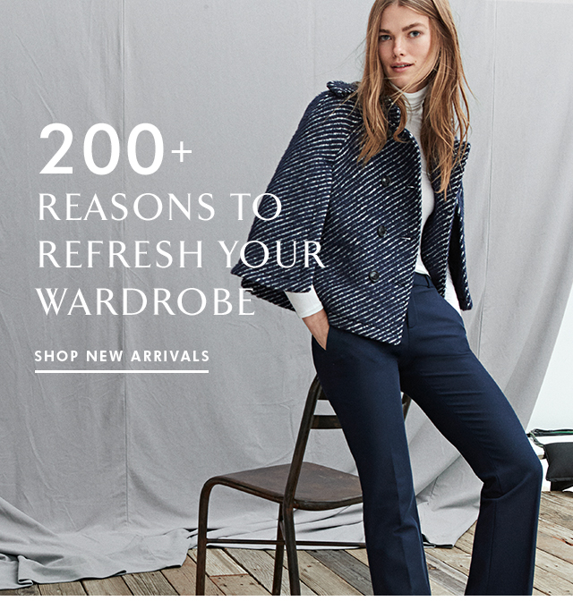 200+ REASONS TO REFRESH YOUR WARDROBE