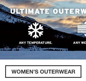 LEGENDARY PERFORMANCE | SHOP WOMEN'S OUTERWEAR