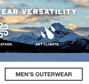 LEGENDARY PERFORMANCE | SHOP MEN'S OUTERWEAR