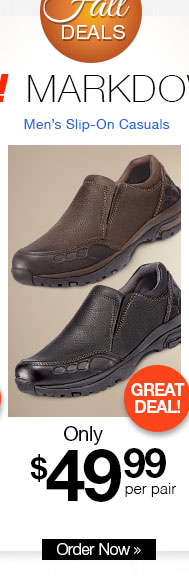 Men's Slip-On Casuals