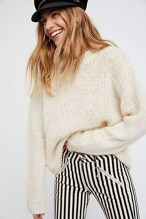 Fluffy Crew Sweater