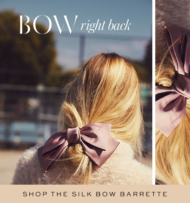 Shop the Silk Bow Barrette