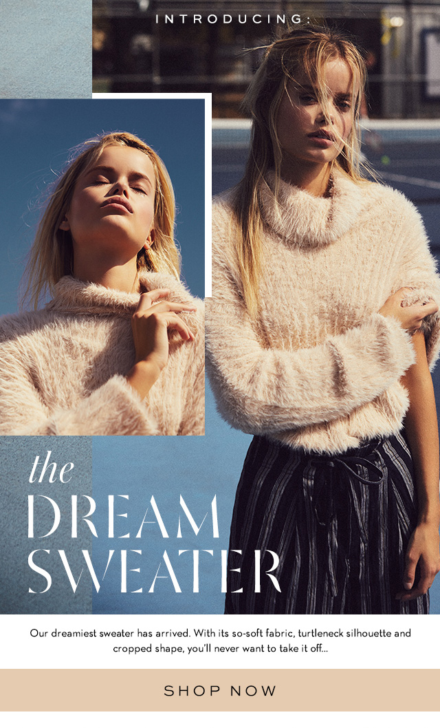 Shop the Dream Sweater