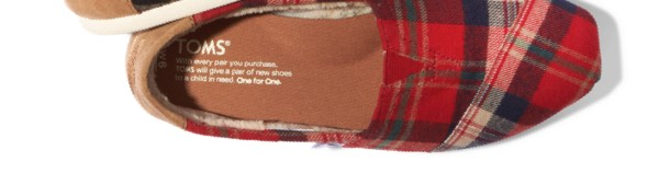 Red Holiday Plaid Women's Classics