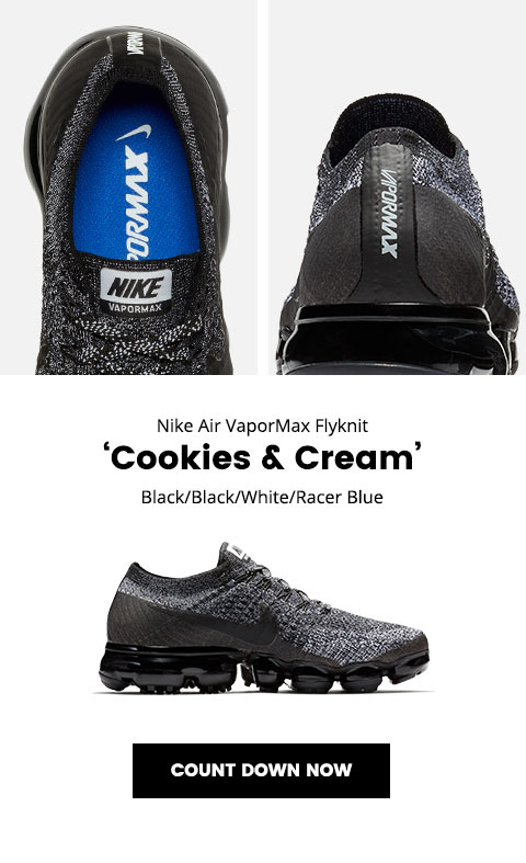 Lady Foot Locker: Nike Air VaporMax Flyknit 'Cookies & Cream' – available  10.26 | Milled