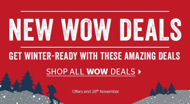 New WOW Deals!