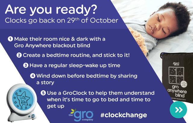 Clock Change Sleeptime Tips