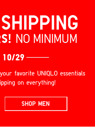 FREE SHIPPING ON ALL ORDERS! NO MINIMUM! Until 10/29 - Shop Women