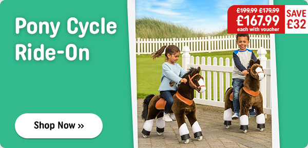 Pony Cycle Ride On