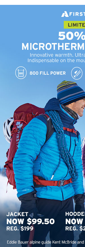 50% OFF MICROTHERM STORMDOWN | SHOP OUTERWEAR