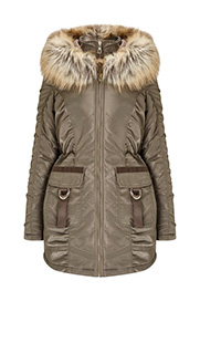 lipsy-double-zip-front-ruched-parka