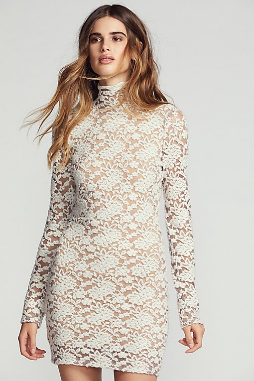Sweater Lace Bodycon