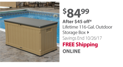 Outdoor Storage Box