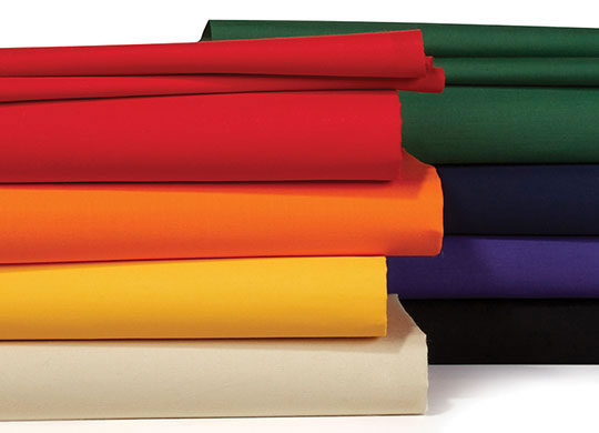 Symphony Broadcloth and Country Classic Solids.