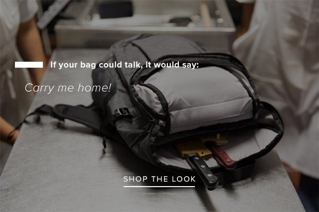If your bag could talk, it would say: Carry me home! — Shop the look