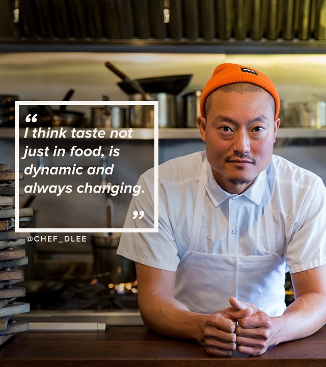 I think taste not just in food, is subject dynamic and always changing | @chef_dlee