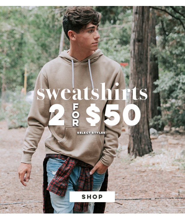 Sweatshirts - 2 for $50