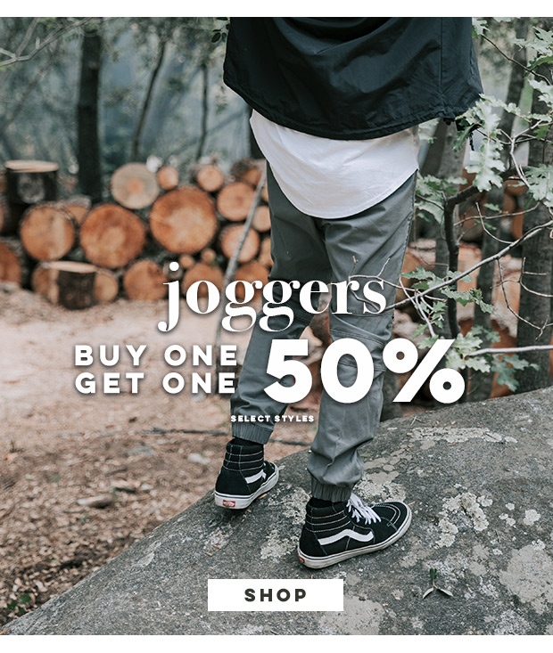 Joggers - Buy 1, Get 1 50% Off