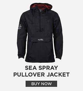 Salt Life Sea Spray Pullover Jacket