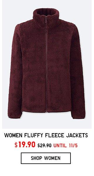 FLUFFY FLEECE JACKETS $19.90 - Shop Women