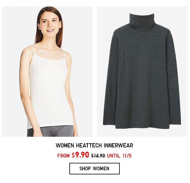 HEATTECH INNERWEAR $9.90 - Shop Women