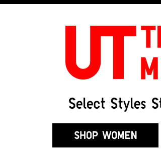 UT - Select Styles Starting at $5.90 - Shop Women