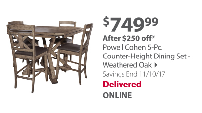 Powellslater Dining set