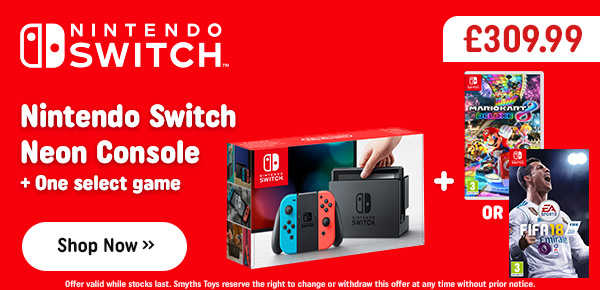 Nintendo Switch Neon with One Select Game