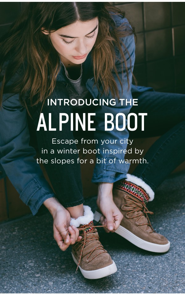 Introducing The Alpine Boot