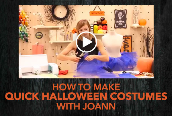 How to Make Quick Halloween Costumes with JOANN.