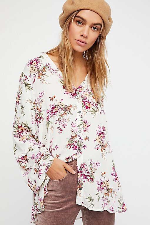 Julie Printed Blouse